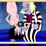 Hot slut from Ben10 - deep blowjob! Cartoon Gonzo