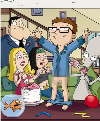 The Smith family in porn - Stan, Roger & Hayley American Dad porn Cartoon Gonzo XXX Cartoons