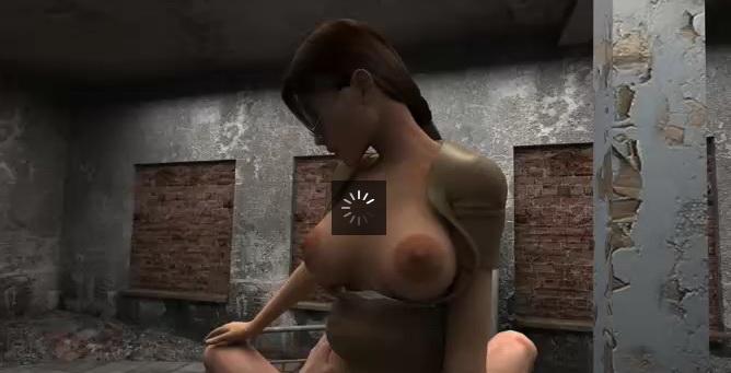 Lara Croft 3d Clip001
